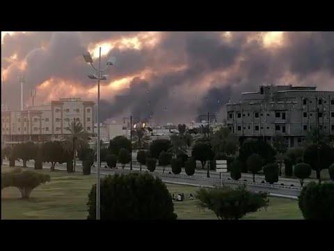 Ataque hutí contra dos plantas petrolíferas en Arabia Saudí