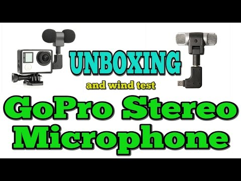 Unboxing (and wind test) GoPro Stereo Microphone