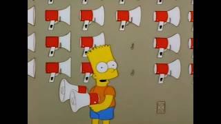 Виски кола королева танцпола. Барт Симпсон.
