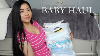 Baby Boy Carters Clothing Haul ! | First Time Mom