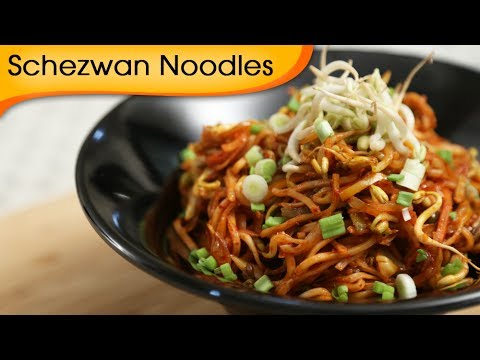 Schezwan Noodles - Easy to Make Quick Homemade Chinese Noodles Recipe By Ruchi Bharani