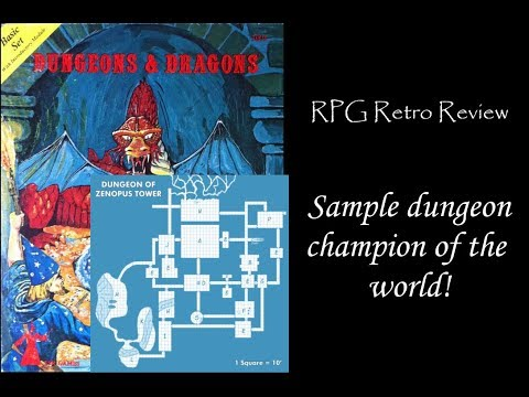 RPG Retro Review:  Tower of Zenopus