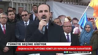 Başkan Altay: Yaptığımız hizmetler yapacaklarımızın garantisidir