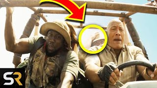 10 Easter Eggs In The Jumanji Movies You Might Have Missed