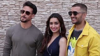 Tiger Shroff,Shraddha Kapoor Riteish Deshmukh,Flirt With The Cameras During Baaghi 3 Promotions