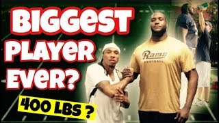 Who's the BIGGEST NFL player of all time?