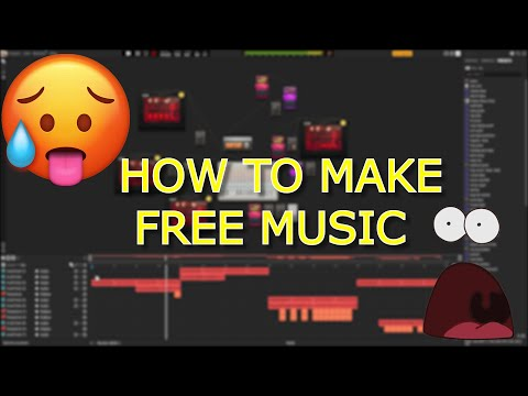 MAKING MUSIC FOR FREE!   HOW TO MAKE MUSIC FOR FREE   AUDIOTOOL TUTORIAL