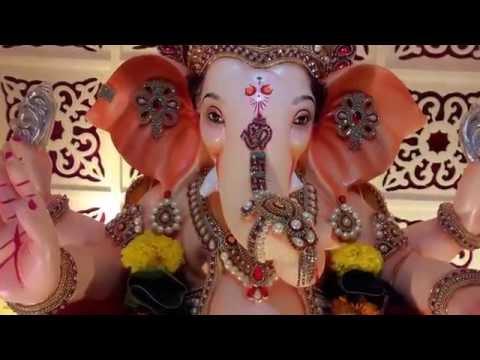 Nilesh Pandit Home Ganpati Decoration Video