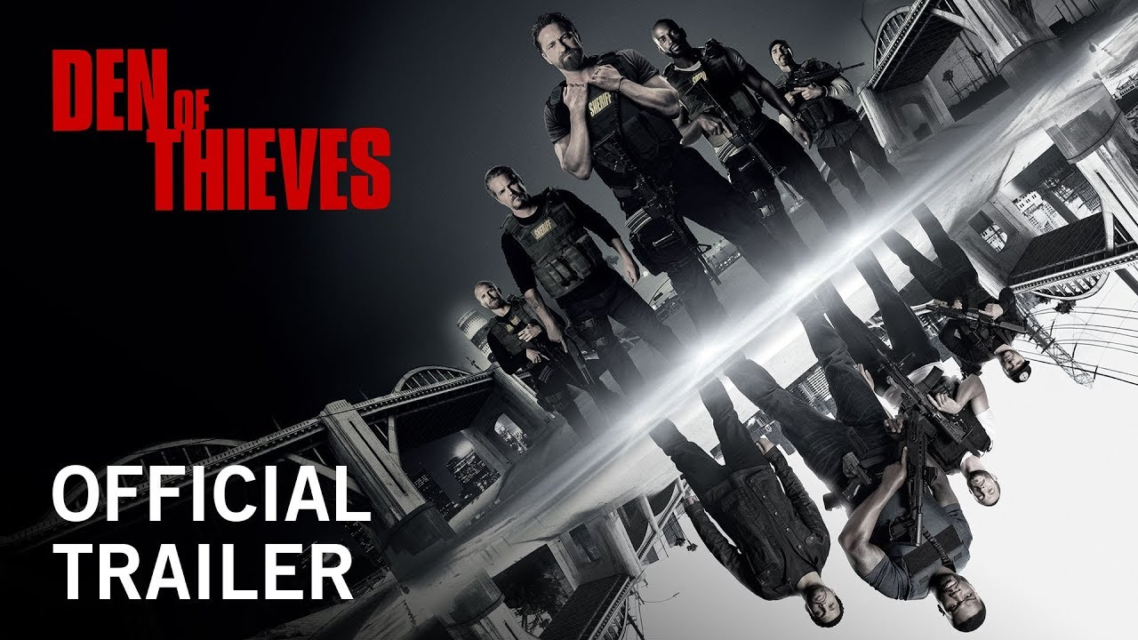 Trailer för Den of Thieves