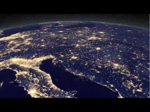 Elektrische Welt: Die Erde bei Nacht