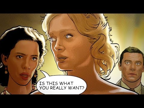 Professor Marston & the Wonder Women Comic Trailer