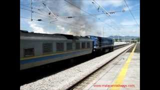preview picture of video '[Keretapi Tanah Melayu] 29105 w. train no. 52 KL Sentral - Ipoh Shuttle'