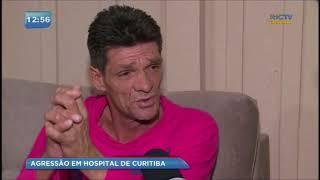 Paciente agredido por médico conversa com exclusividade com o BG