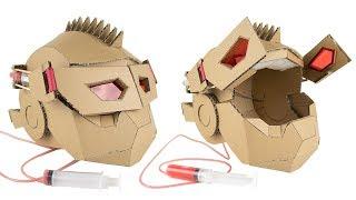 How To Make Transformers Hydraulic Mask - Cardboard