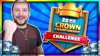 20 WIN CHALLENGE is BACK!! - Searching for the Best 20 Win Deck!! - Clash Royale