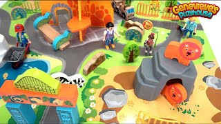 Let's Build a Zoo and Play with a Toy Farm to Learn Animal Names!