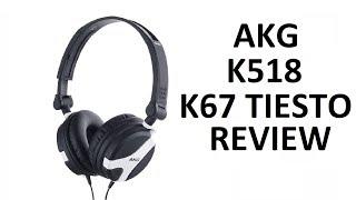AKG K67 & K518 DJ Headphones Review | Redline Technologies