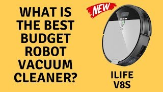 iLife V8S - Best Budget Robot Vacuum Cleaner