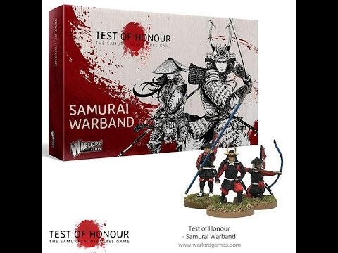 Unboxing - Test Of Honour: Samurai Warband Expansion by Warlord Games