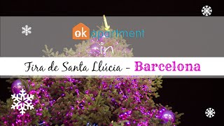 preview picture of video 'Fira de Santa Llúcia, Christmas in Barcelona!'