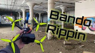 Bando Rippin Quad Castle! FPV Freestyle | ImpulseRC Apex | Hero 7 Prop Noise - No Music