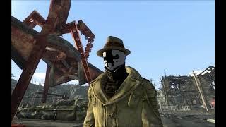 Rorschach mask animation