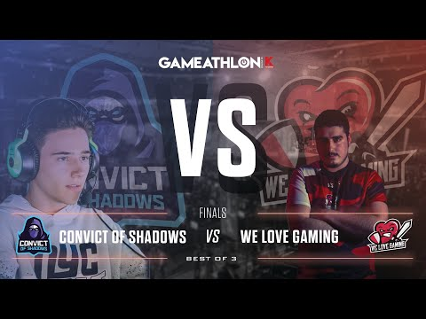 Gameathlon Online July 2020 (Game Only) -  LoL Finals - We Love Gaming VS Convict of Shadows
