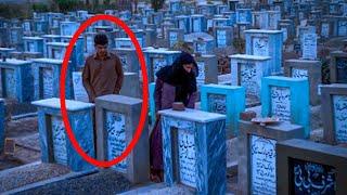 कब्र के ऊपर मूतने का अंजाम देखकर रूह कांप जाएगी | 5 Scary Things Caught on Camera