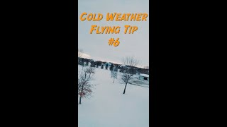 Cold Weather FPV Flying Tip 6 - #shorts
