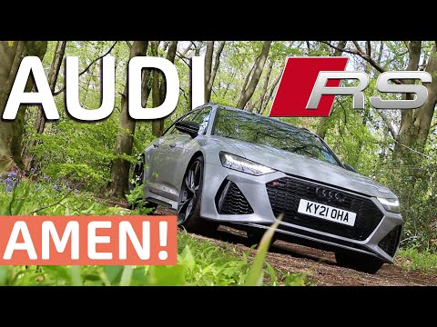 The Car GOD MADE - Audi RS6 Review - For thine is the Audi.