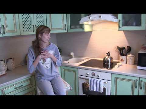 Зеленая кухня в стиле прованс НЕДОРОГАЯ! Как оборудовать кухню в стиле Прованс. Ретро техника.
