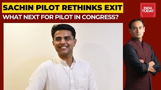 Sachin Pilot Set To Return To Congress? | Newstrack LIVE with Rahul Kanwal | India Today Live TV