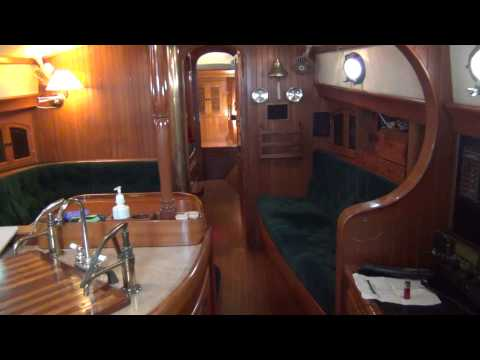 "SOLD!!! Hans Christian 41T ""Malachite"" Sailboat for sale at Little Yacht Sales, Kemah Texas"