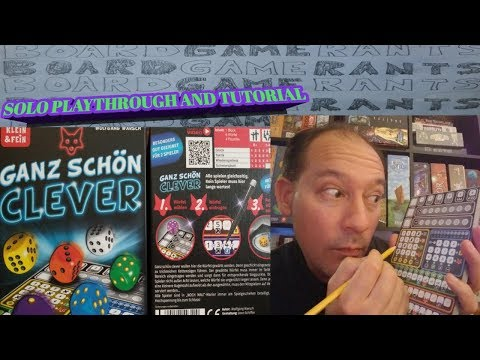Solo Playthrough and Tutorial for Ganz Schon Clever