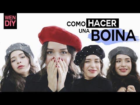 COMO HACER UNA BOINA / WenDIY
