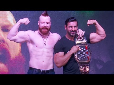 Force 2 Promotion With Wwe Super Star Sheamus John Abraham