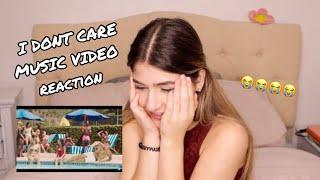 ED SHEERAN & JUSTIN BIEBER  I DONT CARE [OFFICIAL VIDEO] REACTION! | Karolaine