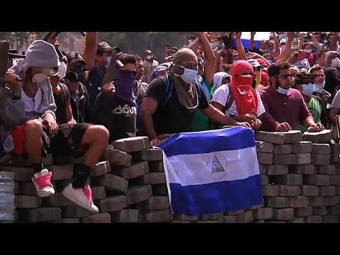 Protests in Nicaragua leave dozens dead