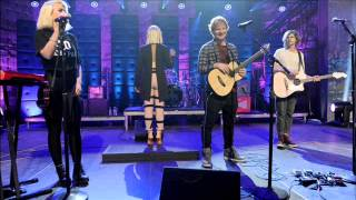 Sia Drunk In Love ft Ed Sheeran, Grouplove [Live SoundClash]