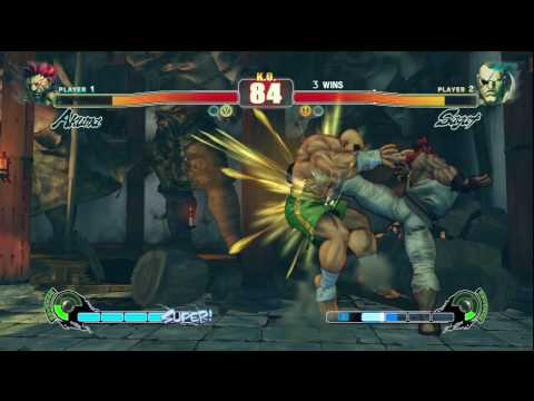 Samsung SF4 Challenge: Grand Finals Set 1 - Xian (Akuma) vs Raven450 (Sagat)