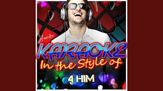 Surrender (In the Style of 4Him) (Karaoke Version)