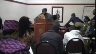 CHIIEF SUNDIATA KEITA KAMARA ACCEPT YOUR OWN AND BE YOUR AFRICAN SELF 12.13.09 PT 3.mpg