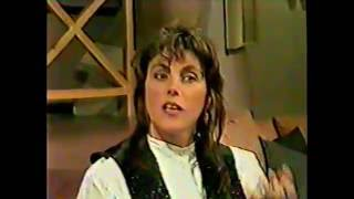 Laura Branigan - Interview [cc] about the 'Name Game' (1987)