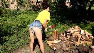 AMAZING Extreme Homemade Automatic Firewood Processor Machines, Modern Wood Cutting Machine