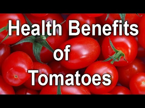 Video Top 10 Health Benefits of eating tomatoes / Nutritional facts of tomatoes