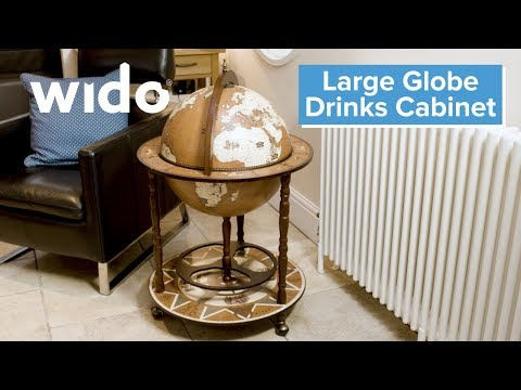Drinks Trolleys Tea Trolleys Small Globe Shaped Drinks Cabinet