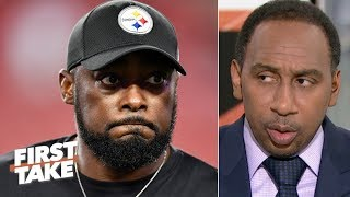 Stephen A. calls out Mike Tomlin: Steelers fans crave a 'Steel Curtain' resurgence   First Take