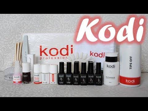Обзор продукции Kodi professional (Коди). Все для гель покрытия.