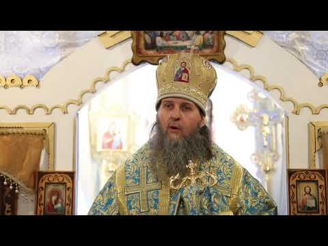 Митрополит Даниил совершил богослужение в Успенском храме поселка Варгаши