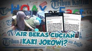 Hoax or Fact: Beredar Berita Warga Dilarikan ke RS seusai Minum Air Bekas Cucian Kaki Jokowi